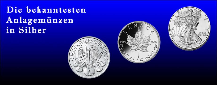 zu den Silbermünzen